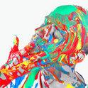 Felix Kröcher mit einem bunten Mix aus technoiden Sounds
