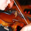 Die Violinistin Patricia Kopatchinskaja.