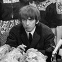 George Harrison hielt sich lieber im Hintergrund, der Trubel um die Beatles war ihm zu viel