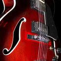 Mit 18 durfte er auf der Gitarre der Legende spielen.