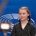 Die Klimaaktivistin Greta Thunberg kämpft für den Erhalt der Erde
