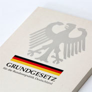 Das Grundgesetz der Bundesrepublik Deutschland.