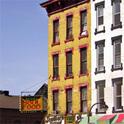 Häuserfassade in Harlem New York