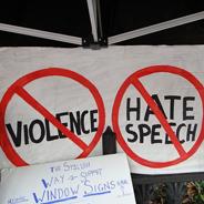 Hass kann nur zu Hass führen