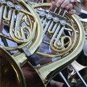 Die Serenade für das Hornsolo