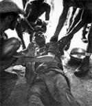 Der gefallene US-Marine Michael A. Baronowski und seine Kriegerlebnisse.