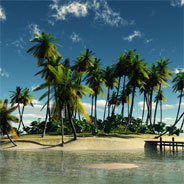 Auf einer Insel gestrandet - damals ein völlig neues Thema in der Literatur.
