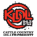 KDDL Cattle Country Radio-Logo