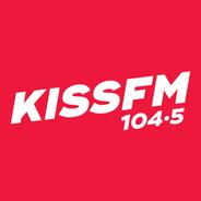 Kiss FM 104.5-Logo