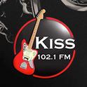 Kiss FM 102.1-Logo