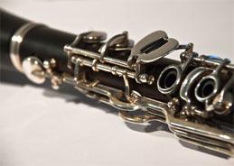 Klarinette und klavier ergänzen sich.
