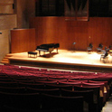 Leerer Konzertraum