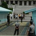Die innerkoreanische Grenze gehört zu den bestbewachtesten weltweit