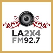 La 2x4 92.7-Logo