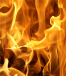 Feuerlilli ist es in ihrem Ofen viel zu eng - sie will raus