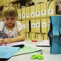 Für Umzüge basteln Kinder gerne Laternen
