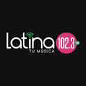 Latina 102.3 FM-Logo