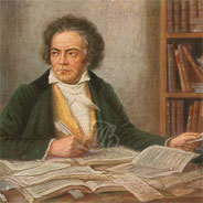 Schon als Kind war er an Beethoven interessiert.