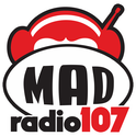 Mad Radio 107-Logo