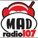 Mad Radio 107-Logo