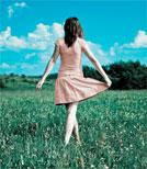 """""""Die Sterne wandern, und ich wandre auch"""" sagt das Mädchen"""