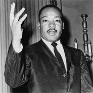 Martin Luther King besuchte Berlin am 12. September 1964