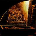 In der Wiener Michaelergruft türmen sich Knochen und Gebeine der Toten teilweise meterhoch