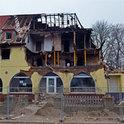 Folgen der Explosion in Zwickau, die der NSU verursachte