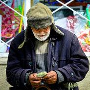 Der Obdachlose Paul war früher ein weltberühmter Geiger