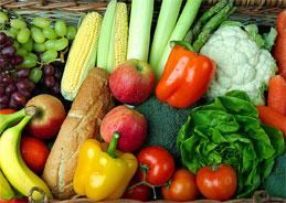 Die Herkunft von Lebensmittel.