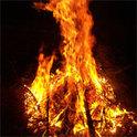 Ein Geistlicher soll verbrannt werden.