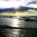 Noch einen letzten Blick aufs Meer wünschte sich Lizzy - und niemand konnte ihr diesen erfüllen