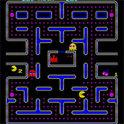 Eines der ersten und bekanntesten Videospiele: Pac-Man