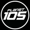 Planet 105-Logo