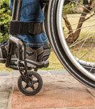 Menschen mit Behinderung sind oft von Gewalt betroffen.