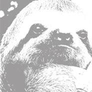 Ein Faultier ist das Maskottchen des Webblogs