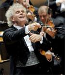 Ein Gastspiel des Dirigenten Sir Simon Rattle