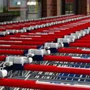 Sehen die Einkaufswagen der Zukunft bald ganz anders aus?