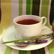 Eine Teegesellschaft im Jahre 1804.