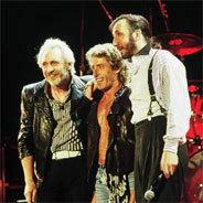 The Who waren vor ein paaren Jahren wieder auf Tour