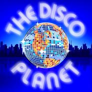 The Disco Planet-Logo