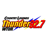 Thunder 92.7 WTDR-Logo