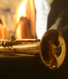 Die Startrompeterin Airelle Besson beim Internationalen Jazz-Weekend Unterföhring.