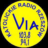 Katolickie Radio Rzeszów VIA -Logo