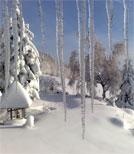 Schön anzusehen ist eine winterliche Landschaft ja - mit dem Auto in einer Schneewehe stecken zu bleiben dagegen nicht